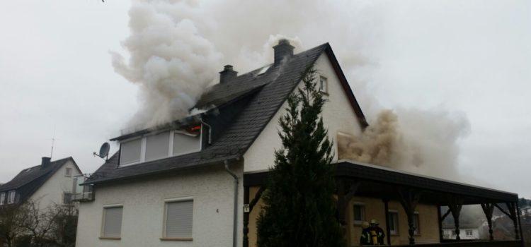 """Einsatz 4/2017 """"Wohnhausbrand"""""""