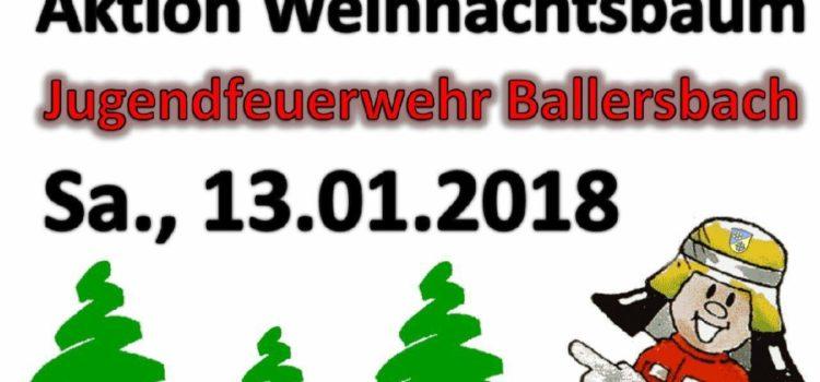 Weihnachtsbaumaktion 2018