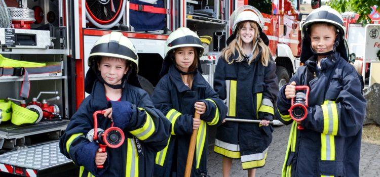 Ferienspaß bei der Feuerwehr