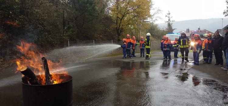 JF – Einatz Nr. 5 Mülltonnenbrand in Offenbach