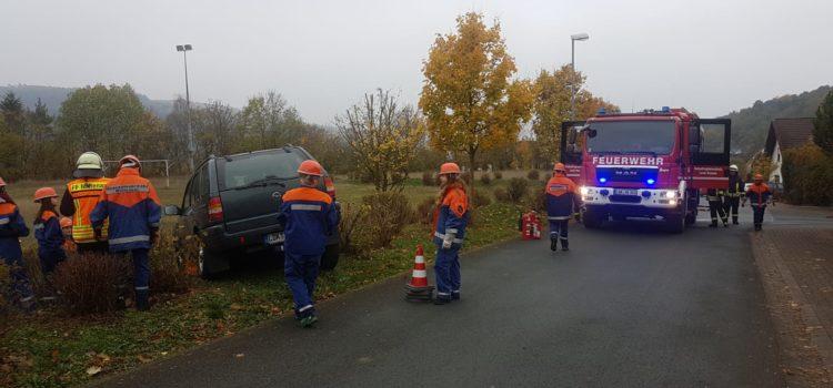 JF – Einsatz Nr. 6 Verkehrsunfall