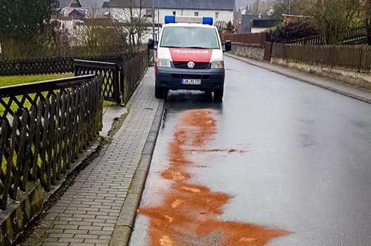 """Einsatz 1/2019 """"Ölspur"""""""