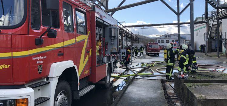 """Einsatz 6/2019 """"Feuer 2 – Gebäudebrand"""""""