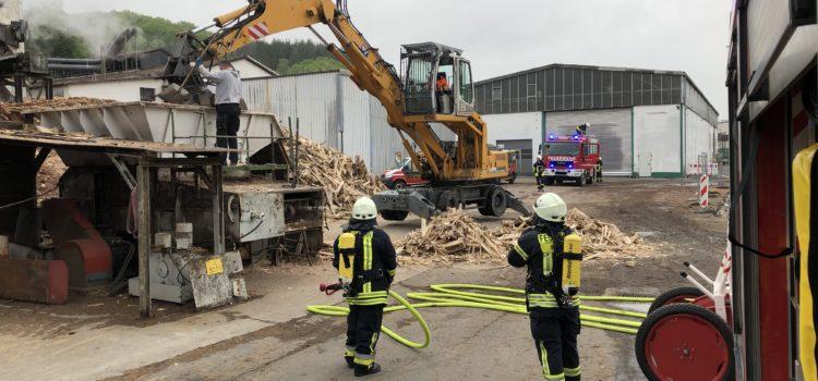 """Einsatz 14/2019 """"Feuer 2 – Maschinenbrand """""""