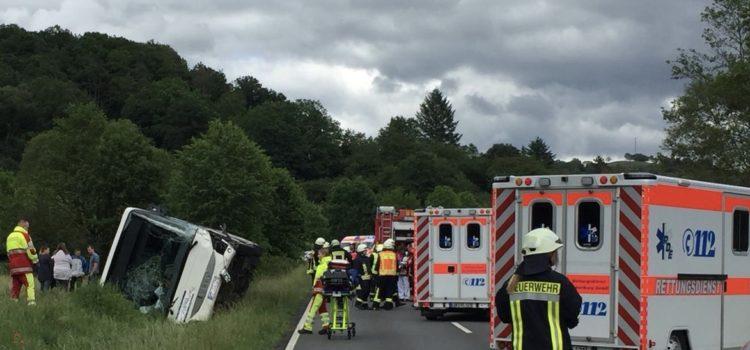 """Einsatz 15/2019 """"Verkehrsunfall – Mehrere verletzte Personen"""""""