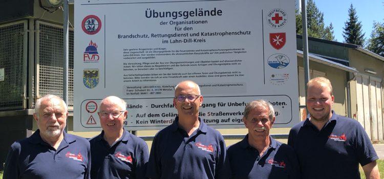 Alters- und Ehrenabteilung auf dem Aktionstag in Frohnhausen