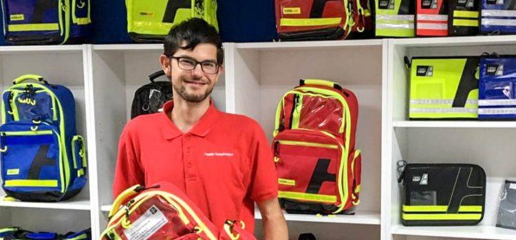 Neuer Rettungsrucksack für die Feuerwehr Mittenaar
